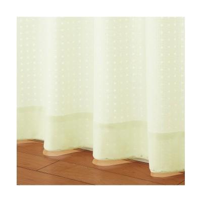 ブロック柄遮熱・24時間見えにくいレースカーテン レースカーテン・ボイルカーテン, Curtains, sheer curtains, net curtains(ニッセン、nissen)