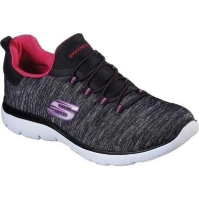 スケッチャーズ Skechers レディース スニーカー シューズ・靴 Summits Quick Getaway Sneaker Black/Pink