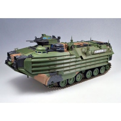 童友社 (再生産)1/ 35 AAV7 A1 RAM/ RS 陸上自衛隊水陸両用車プラモデル 返品種別B