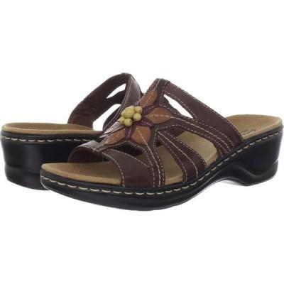 クラークス Clarks レディース サンダル・ミュール シューズ・靴 Lexi Myrtle Brown