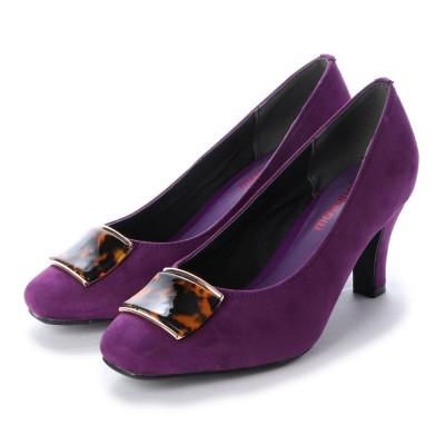 マシュガール masyugirl 【4E/幅広ゆったり・大きいサイズの靴】ベッコウ柄バック SOROTTO