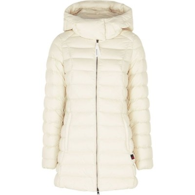 ウールリッチ Woolrich レディース ジャケット シェルジャケット アウター eco off-white quilted shell jacket White