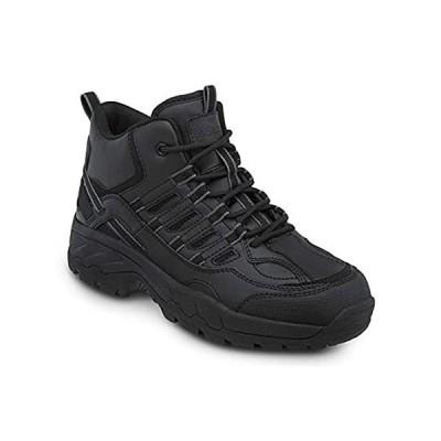特別価格[SR MAX] ブーンメンズSlip Resistant Safety Toe Hi Hiker Boot カラー: ブラック好評販売中