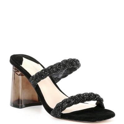 アントニオメラニー レディース サンダル シューズ Brea Rhinestone Embellished Dress Mules Black