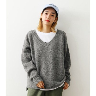KNIT & L/Tレイヤードセット T.GRY