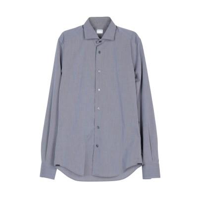 XACUS シャツ 鉛色 38 コットン 100% シャツ