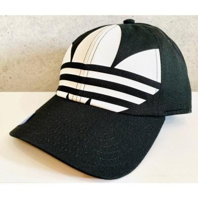 アディダスオリジナルス adidas originals ・キャップ・帽子・Big Trefoil Log・メンズ・ユニセックス・Black/White