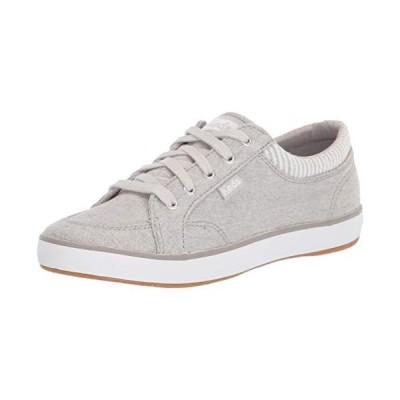 Keds Women's Center Sneaker, Light Grey, 6【並行輸入品】