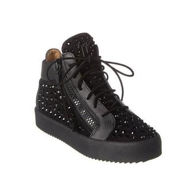 レディース シューズ  Giuseppe Zanotti Suede & Leather Sneaker