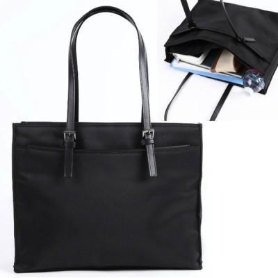 【フロントポッケ】軽量 レディースビジネスバッグ リクルートバッグ A4ゆったり収納 就活バッグ お受験書類入れ