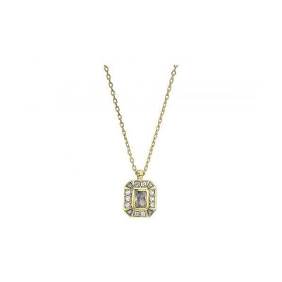 """Vince Camuto ヴィンスカムート レディース 女性用 ジュエリー 宝飾品 ネックレス 18"""" Asher Cut Pendant Necklace - Gold/Crystal"""