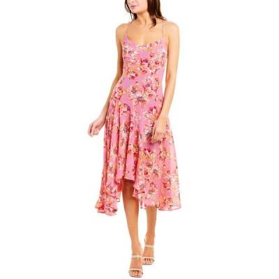 アストラット ワンピース トップス レディース ASTR the Label Janine A-Line Dress lavender & pink floral