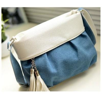 ミニズック製バック レディース バッグ タッセル付き おしゃれ かわいい ななめ掛け  ショルダー バッグ