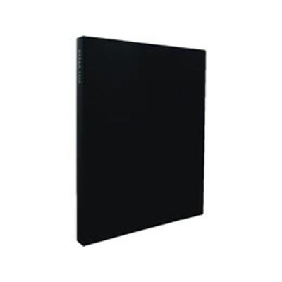 セキセイ/クリヤーファイル高透明 A4 40ポケット ブラック/KP-2514-60