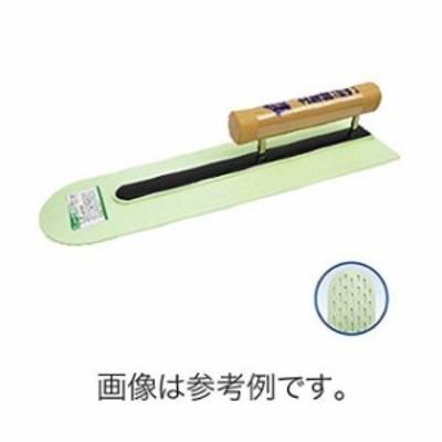 金鹿 ニュー土間鏝 木柄 400mm プラスチック(910238)