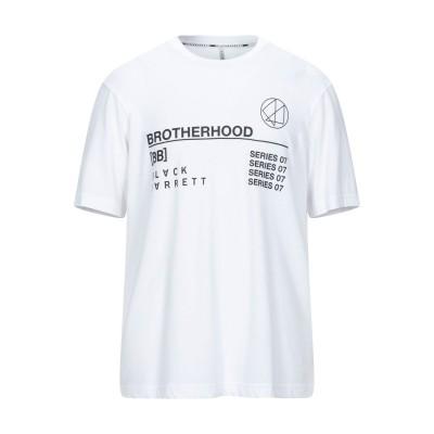 BLACK BARRETT T シャツ ホワイト XL コットン 50% / レーヨン 50% T シャツ