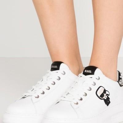 レディース 靴 シューズ KAPRI IKONIC STUD TAB - Trainers - white/black