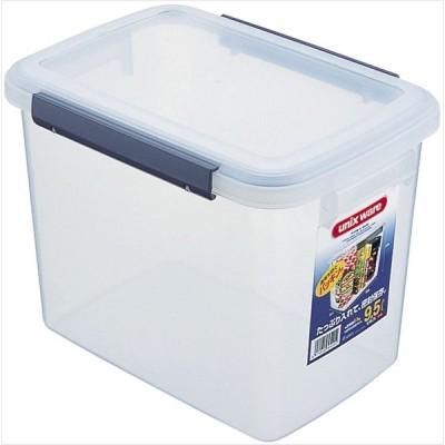 ロック式 キッチンボックス S-60 クリア 4974908753701 アスベル 保存容器 食材 乾燥しにくい キッチン用品