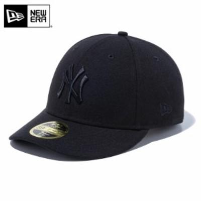 クーポンで最大2000円OFF!【T】【メーカー取次】 NEW ERA ニューエラ MLB Low Profile 59FIFTY ニューヨーク・ヤンキース ブラックXブラ