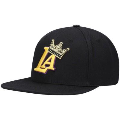 レイカーズ キャップ NBA プロスタンダード Pro Standard ブラック 優勝記念 2020 Finals Champs Crown Snapback Hat