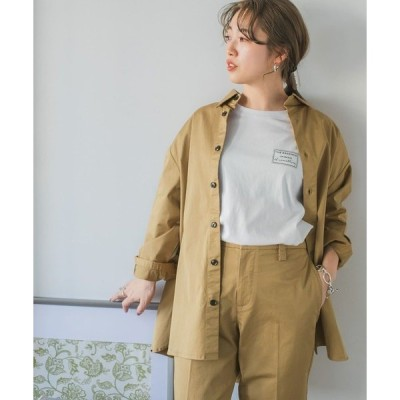 ジャケット テーラードジャケット ツイルシャツジャケット
