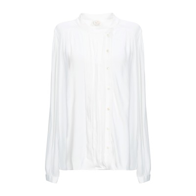 DES PETITS HAUTS シャツ ホワイト 2 100% レーヨン シャツ