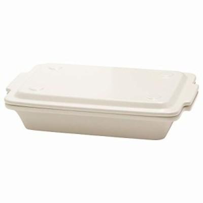 TAMAKI グリルプレート コーナー ホワイト 直径24.6×奥行16.2×高さ5.5cm 510ml 電子レンジ・食洗機・オーブン対応 T-885192