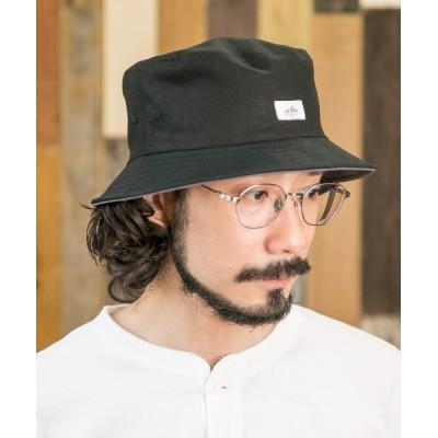 Shop無 / リネンツイルバケットハット MEN 帽子 > ハット