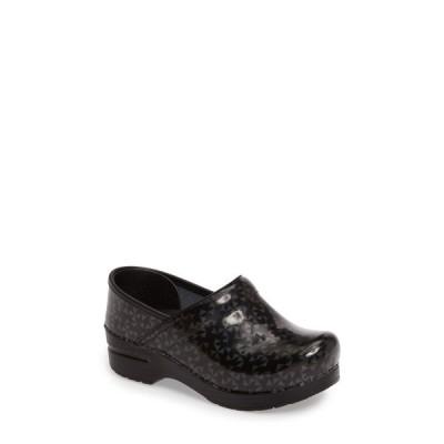 ダンスコ DANSKO レディース クロッグ シューズ・靴 'Professional' Clog Glitzy Patent Leather