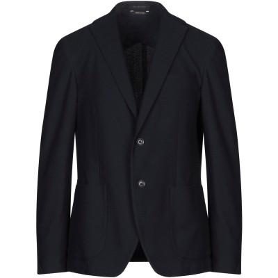 JEORDIE'S テーラードジャケット ダークブルー 52 コットン 100% テーラードジャケット