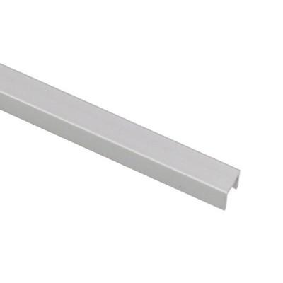 アルミチャンネル 1.0×7×7mm 1m シルバー 1本