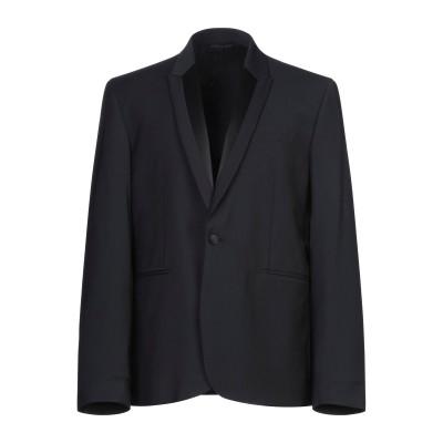 ドンダップ DONDUP テーラードジャケット ブラック 56 ポリエステル 52% / ウール 44% / ポリウレタン® 4% テーラードジャケ
