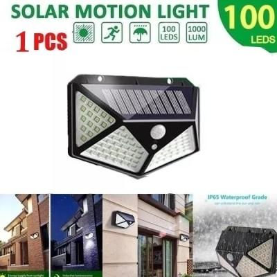 Pirモーションディテクター付き100個 LED ソーラー電球 屋外照明 装飾ライト 庭 ip65
