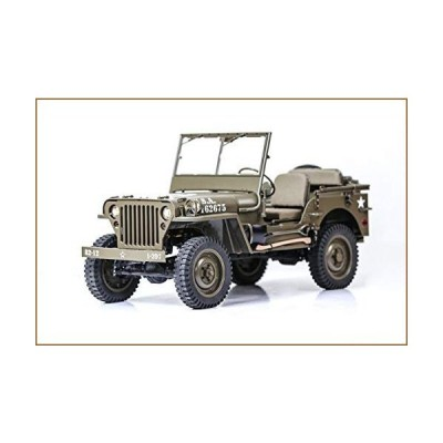 RocHobby RC Car 1/6 1941 MB Scaler Remote Control Vehicle Ready Set with Transmitter and Receiver (no Batteries, Charger)【並行輸入品