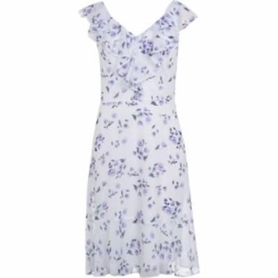 ディーケーエヌワイ DKNY Occasion レディース ワンピース ワンピース・ドレス Rattle Hem Dress B IVRY/LILA
