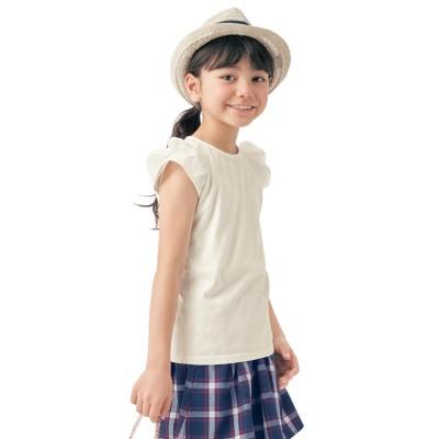 【まとめ買いでお得】チュール袖Tシャツ(ジータ/GITA basic)
