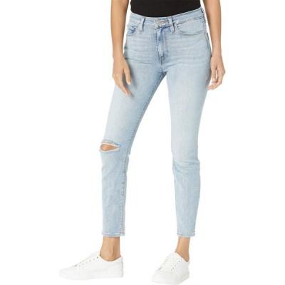 ハドソンジーンズ Hudson Jeans レディース ジーンズ・デニム スキニー ボトムス・パンツ Barbara High-Rise Super Skinny Crop Jeans in Baby Face Baby Face