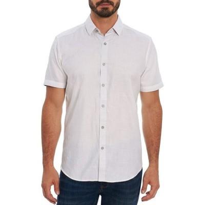 ロバートグラハム メンズ シャツ トップス Woven Classic Fit Short Sleeve Shirt