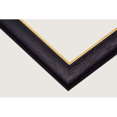 ジグソーパズル用 ゴールドモール木製パネル ブラック (MP037) 51.5×18.2cm [3-P] 【パネル フレーム 枠 額 ビバリー】