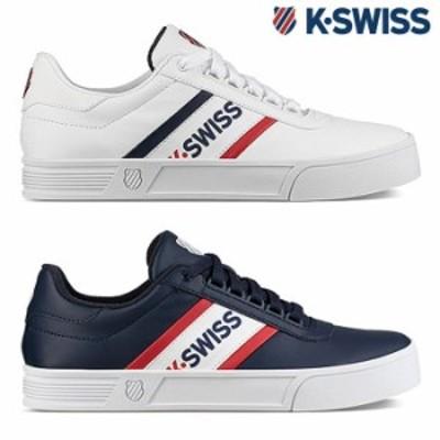 ケースイス スニーカー メンズ レディース K-SWISS Court Lite Spellout S ケイスイス
