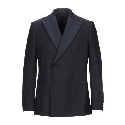 ラルディーニ LARDINI テーラードジャケット ダークブルー 52 ウール 100% テーラードジャケット