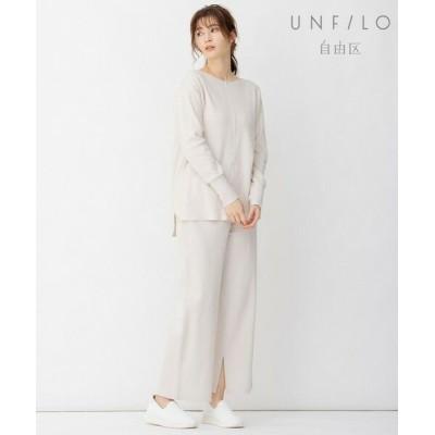 UNFILO/アンフィーロ 【UNFILO】QUATTRO SMOOTH コットン パンツ ベージュ系 44