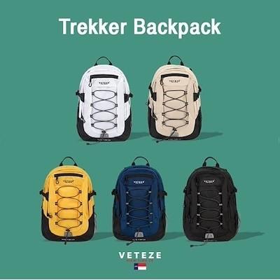 [VETEZE]ベテゼ TREKKER BACKPACK/バックパック/リュック/スポーツバッグ/カジュアル/ユニセックス/メンズ/レディース/韓国ブランド