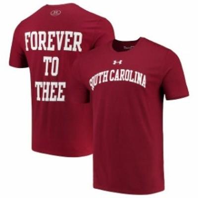 Under Armour アンダー アーマー スポーツ用品  Under Armour South Carolina Gamecocks Garnet 2-Hit Performance T-Shirt