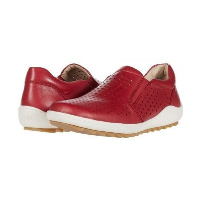 Rieker リーカー レディース 女性用 シューズ 靴 ローファー ボートシューズ R1421 Liv 21 - Rosso