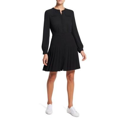 セオリー レディース ワンピース トップス Classic Georgette Pleated Dress