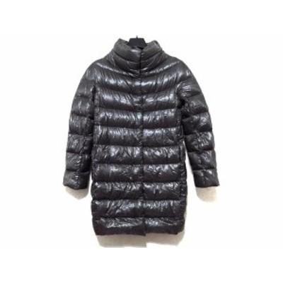 ヘルノ HERNO ダウンコート サイズ40 M レディース 美品 ダークグレー 冬物【中古】20200211