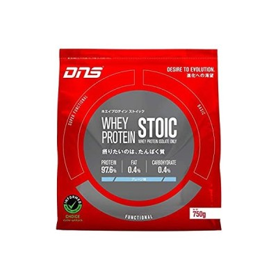 DNS ホエイプロテイン ストイック STOIC プレーン風味