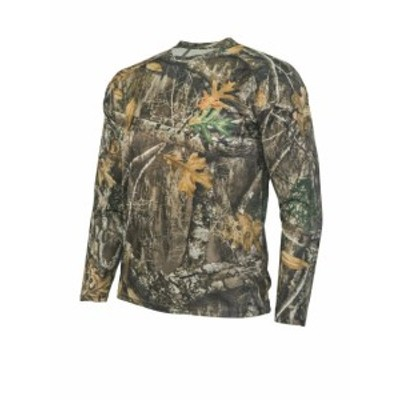 hyde ハイド ファッション アウター Realtree Edge Camo Long Sleeve Polyester Shirt by Hyde Gear Outdoor Hunting...