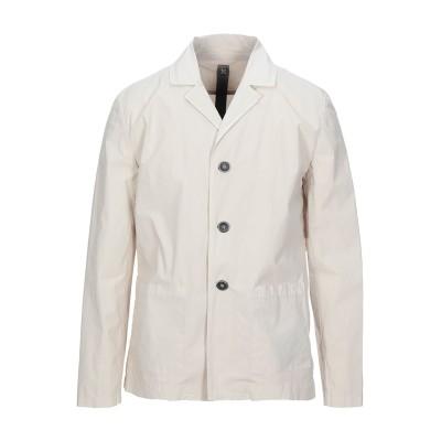 SWISS-CHRISS テーラードジャケット ベージュ M コットン 97% / ポリウレタン 3% テーラードジャケット